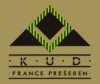 Logo KUD FRANCE PREŠEREN, CULTURE AND ENTERTAINMENT, LJUBLJANA, SLOVENIA