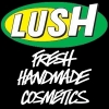 Logo LUSH, BEAUTY SHOP, LJUBLJANA, SLOVENIA