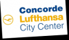 Logo CONCORDE D.O.O., LUFTHANSA CITY CENTER, TRAVEL AGENCY, LJUBLJANA, SLOVENIA