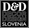 Logo DECOR & DESIGN d.o.o., INTERIOR ARCHITECTURE, lJUBLJANA, SLOVENIA