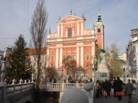 FRANCISCAN CHURCH. LJUBLJANA, SLOVENIA