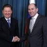 PM Holds Talks With Gazprom Chairman