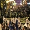 Portuguese police protest at parliament over cuts