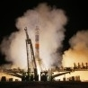 US and Russians blast off together to the International Space Station