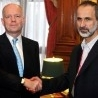 EU foreign ministers meet Syrian opposition