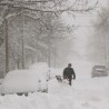 Freak snowstorm hits parts of Europe