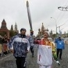 Sochi Olympic torch blasts off into space